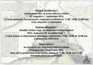 Prehliadka Pevnosti @ Pevnosť | Komárno | Nitriansky kraj | Slovensko