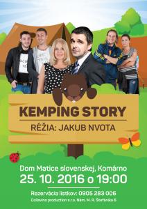 Kemping story (Príbeh z kempovania) @ Dom Matice slovenskej | Komárno | Slovensko