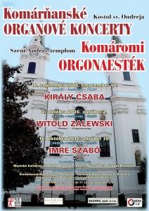 Komárňanské organové koncerty @ Kostol sv. Ondreja | Komárno | Slovensko