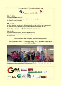 Medzinárodný týždeň nosenia detí @ Shopping Center, Detský kútik | Komárno | Slovensko