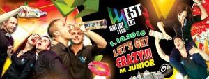Let's get crazy! - M. Junior @ West | Komárno | Slovensko
