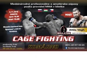 CAGE Fighting Komárno @ Športová Hala | Komárno | Slovensko