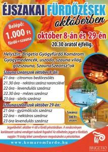 Nočné kúpanie @ Brigetio gyógyfürdő | Komárom | Komárom-Esztergom | Maďarsko