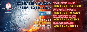 Volejbal: Komárno - Košice @ Športová hala | Komárno | Slovensko