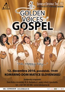 Golden Voices Gospel @ Dom Matice slovenskej | Komárno | Slovensko