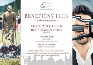 Benefičný ples – Srdcom pre zdravie @ Reštaurácia Bastion | Komárno | Nitriansky kraj | Slovensko