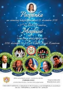 Vianočný benefičný koncert @ MsKs  | Komárno | Slovensko
