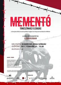 Mementó - táncszínházi előadás @ Komáromi Jókai Színház | Slovensko