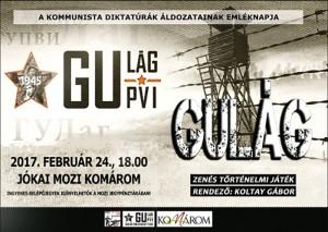 Gulág - Zenés történelmi játék @ Jókai Mozi | Komárom | Maďarsko