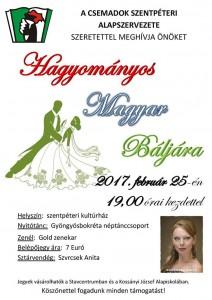 Hagyományos magyar bál @ szentpéteri kultúrház | Svätý Peter | Slovensko