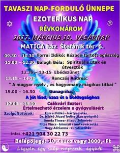 Tavaszi napforduló ünnepe @ Matica ház   Slovensko