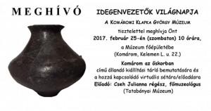 Idegenvezetők világnapja @ Klapka György Múzeum | Komárom | Maďarsko