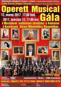 Operet Musical Gála @ MsKs   Slovensko
