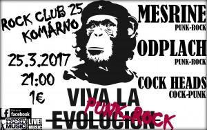 Viva La Punk-Rock @ Rock Club 25 | Slovensko