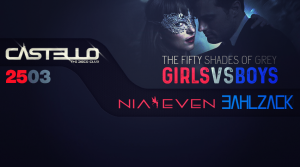 The Fifty Shades of Grey Party - Nia Even, Bahlzack @ Castello | Slovensko