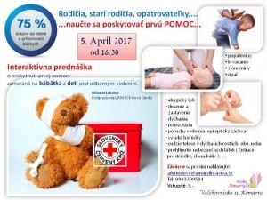 Interaktívna prednáška o poskytnutí prvej pomoci @ Amaryllis | Slovensko