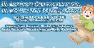 III. Komarátsky detský festival @ Klapkovo námestie a Park Anglia   Komárno   Slovensko