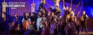 A kőszívű ember fiai - musical @ Monostori Erőd | Komárom | Maďarsko