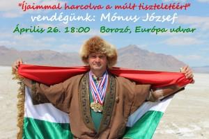 Íjaimmal harcolva a múlt tiszteletéért - Mónus József előadása @ Borozó, EU udvar | Komárno | Slovensko