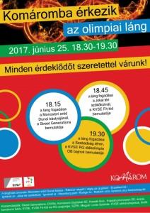 Komáromba érkezik az olimpiai láng @ Monostori Erőd | Komárom | Maďarsko