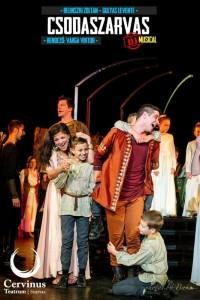 Csodaszarvas - musical @ Monostori Erőd | Komárom | Maďarsko