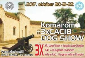 Komárom 3X CACIB 2017 @ Komárom CACIB | Komárom | Maďarsko