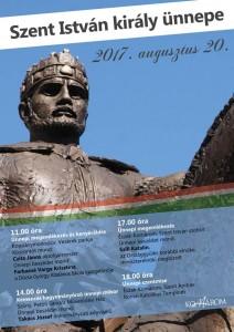 Szent István király ünnepe @ Vezérek parkja | Komárom | Maďarsko