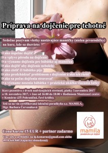 Príprava na dojčenie pre tehotné @ v Rodinnom Montessori centre v Komárne, ZŠ Pohraničná | Nitriansky kraj | Slovensko