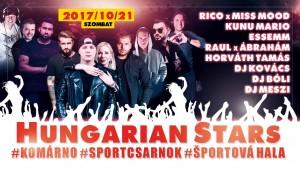 Hungarian Stars @ Sportcsarnok  | Nitriansky kraj | Slovensko